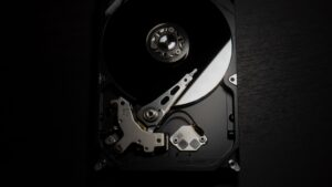 The inner workings of a hard disk drive